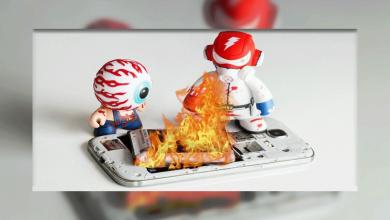 داغ شدن تلفن همراه