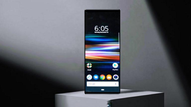 این نمایشگر در Sony Xperia XZ4