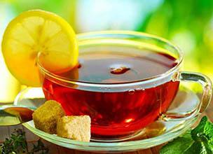 دمنوش سرماخوردگی چای لیمو