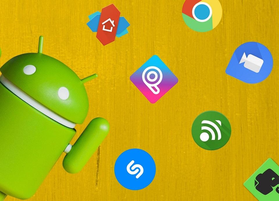 برنامه های نصب شده در Android