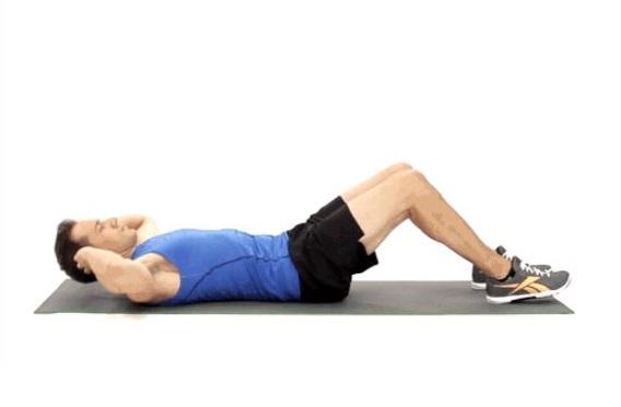 ورزش کرانچ یا دراز نشست برای شکم