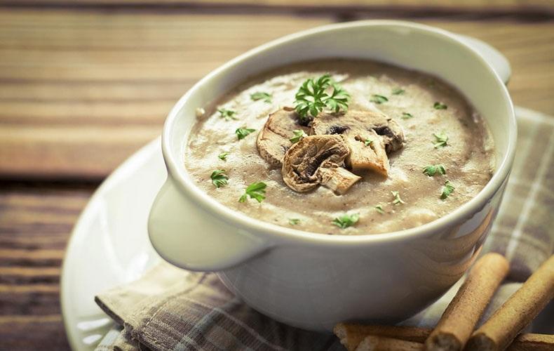 درست کردن سوپ شیر