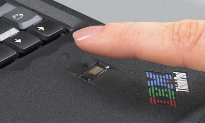 حسگر اثر انگشت لپ تاپ مناسب برای ایمن نگه داشتن لپ تاپ