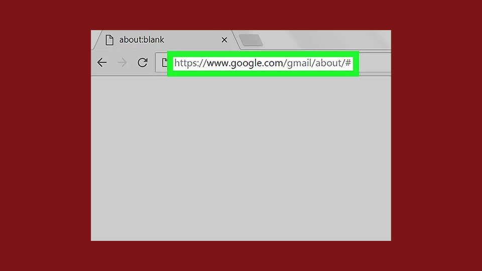 وب سایت Gmail
