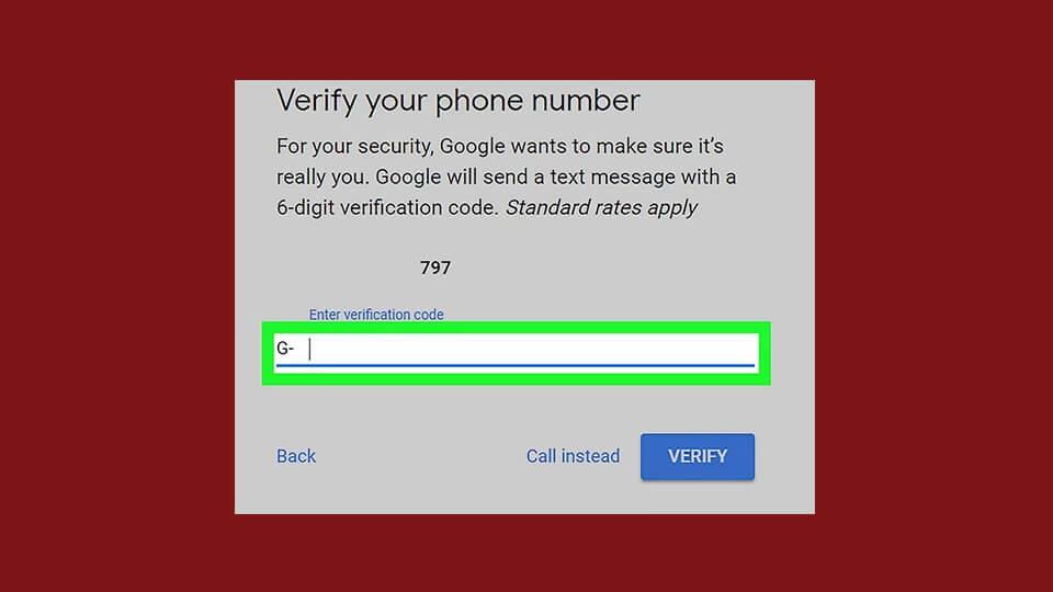 تایید شماره تلفن