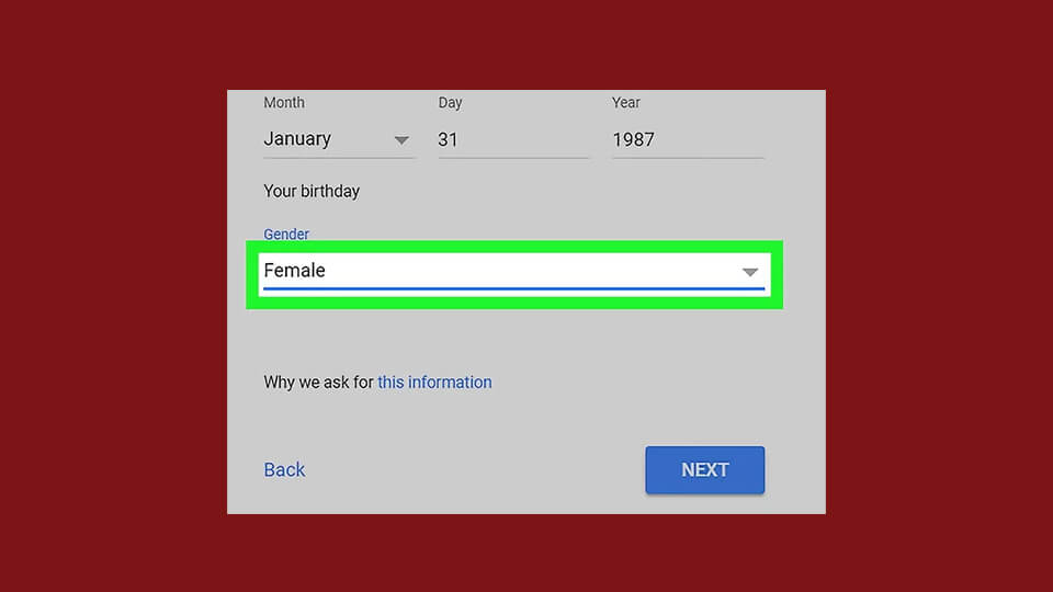 انتخاب جنسیت
