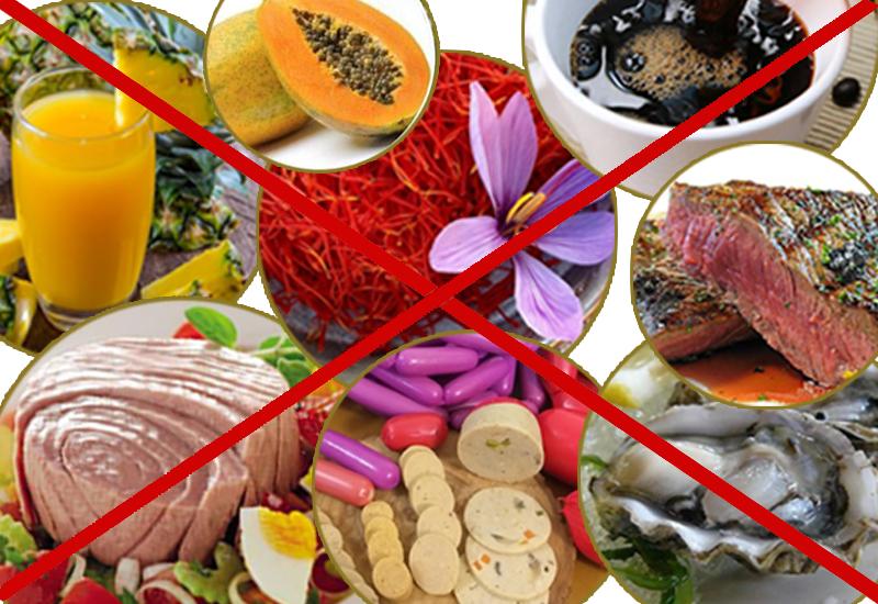 مواد خوراکی مضر و موثر در سقط جنین