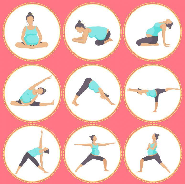 ورزش های کششی در سه ماه دوم بارداری
