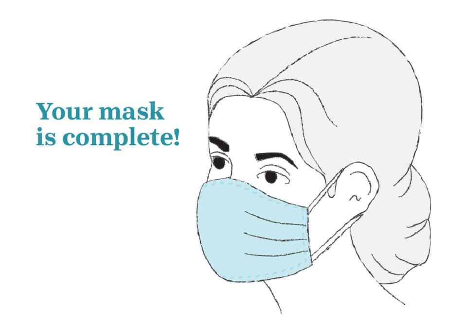 آموزش ساخت ماسک : ماسک نهایی