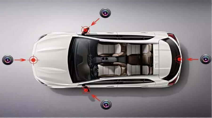 فناوری خودرو : دوربین های 360 درجه خودرو