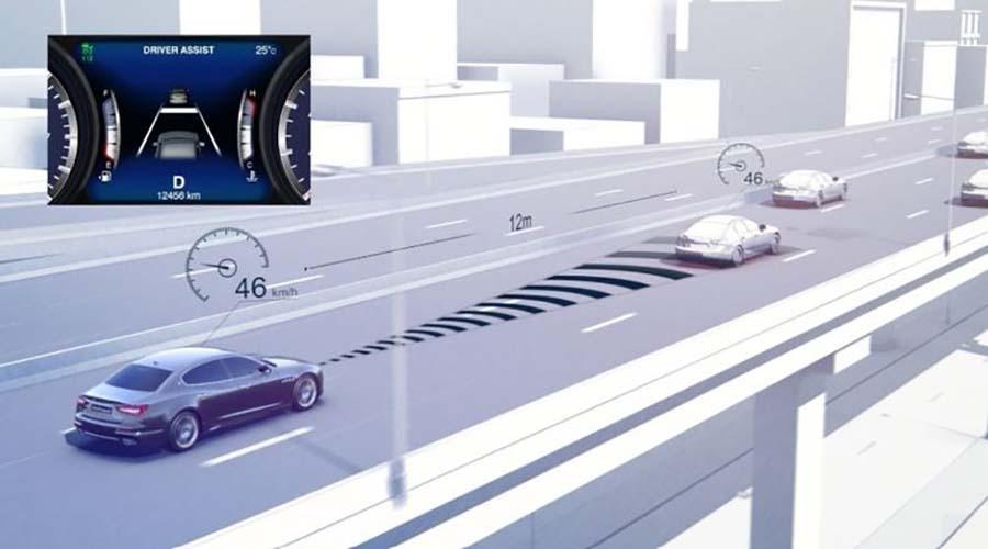 فناوری خودرو : انتباق Cruise Control
