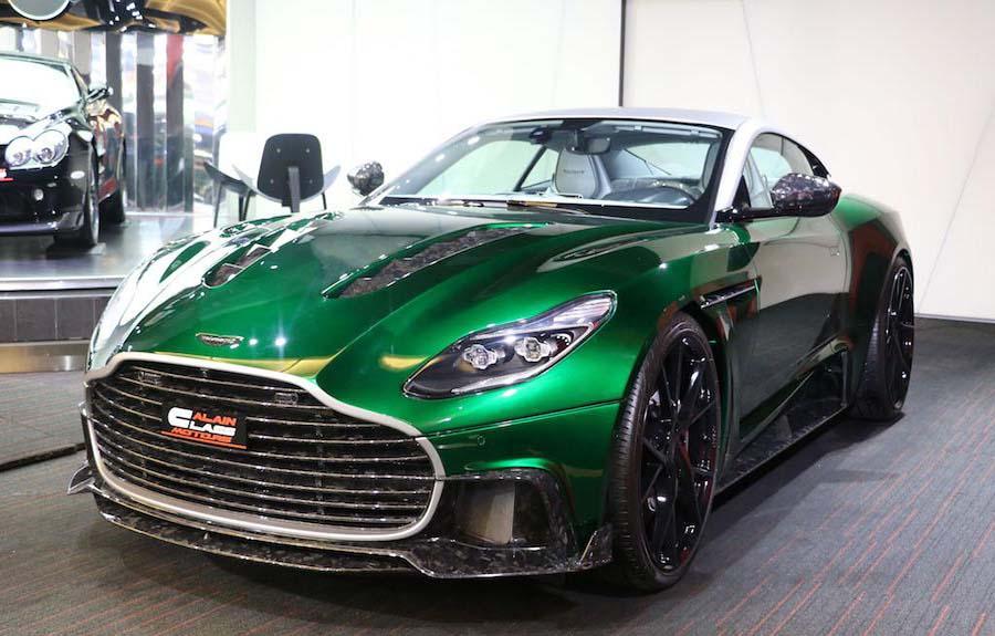 خودرو اصلاح شده شرکت Mansory : MANSORY Cyrus DB11 (Aston Martin DB11)