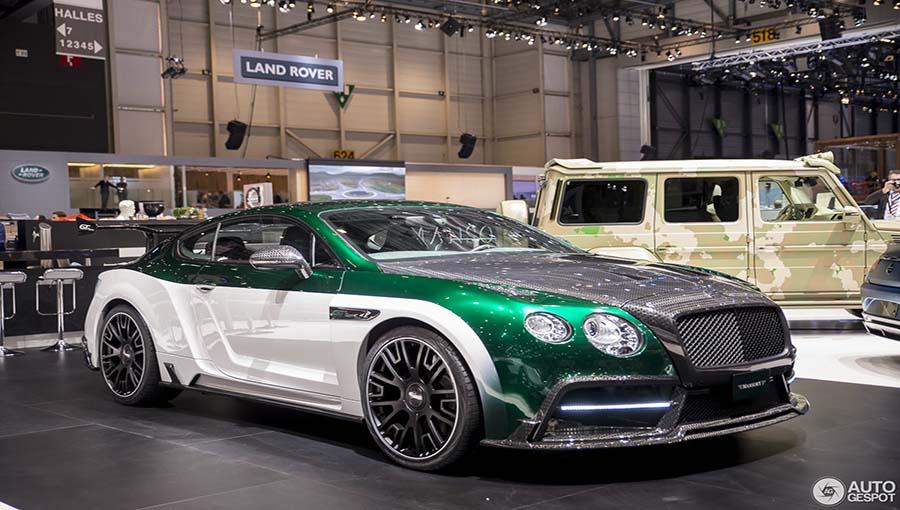 خودرو اصلاح شده شرکت Mansory : GT Race (Bentley Continental GT)