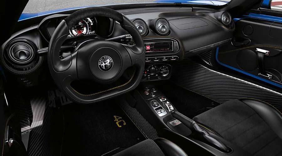 کایین زشت خودرو گران قیمت : Alfa Romeo 4C