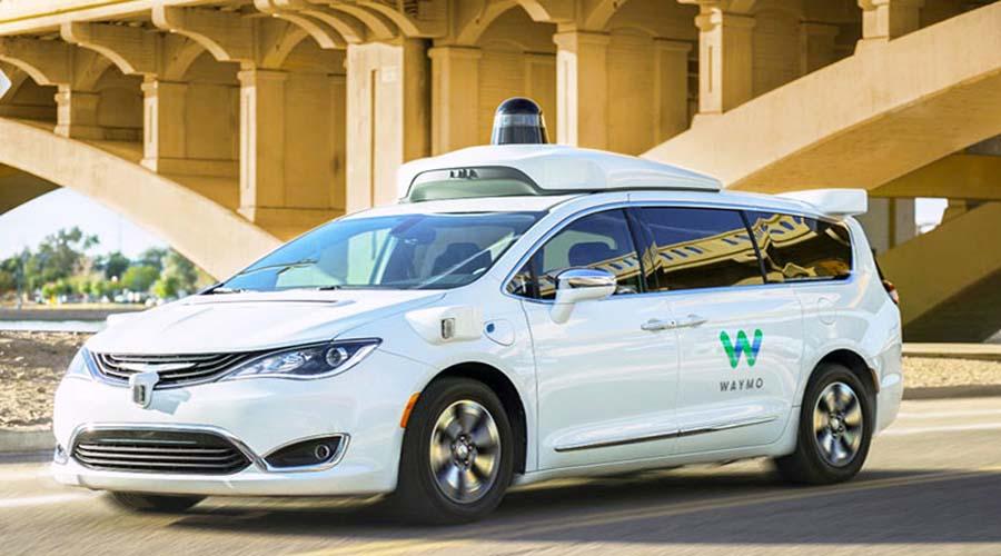 خودرو اتوماتیک ساخته شده توسط کمپانی گوگل موسوم به WAYMO