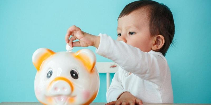 قلک رنگی برای آموزش مهارت مالی کودک