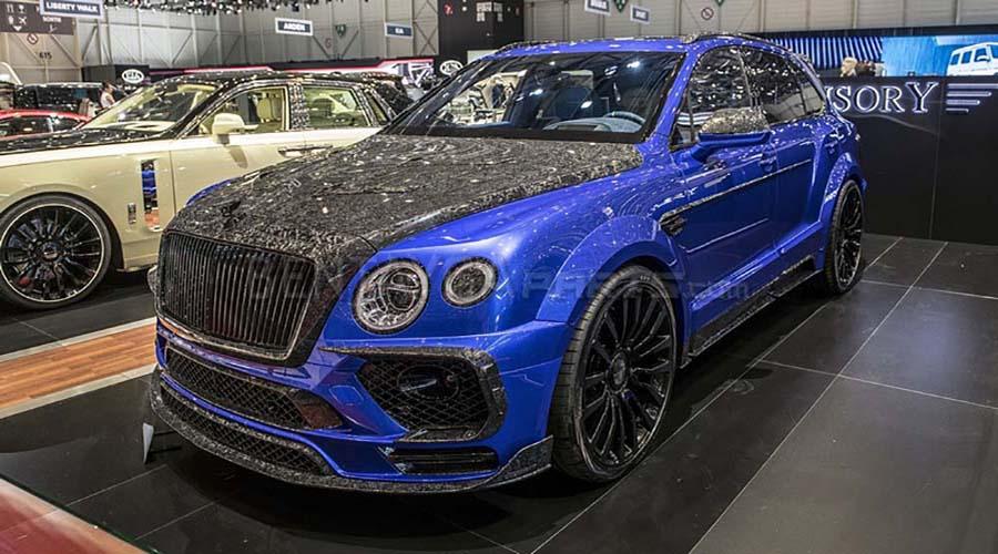 خودرو اصلاح شده شرکت Mansory : Bentley Bentayga In The Bleurion Edition :