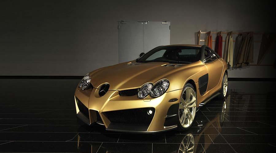 خودرو اصلاح شده شرکت Mansory : MANSORY Renovatio (Mercedes-Benz MC Laren SLR