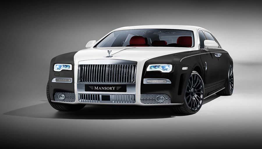 خودرو اصلاح شده شرکت Mansory : Rolls-Royce Ghost II