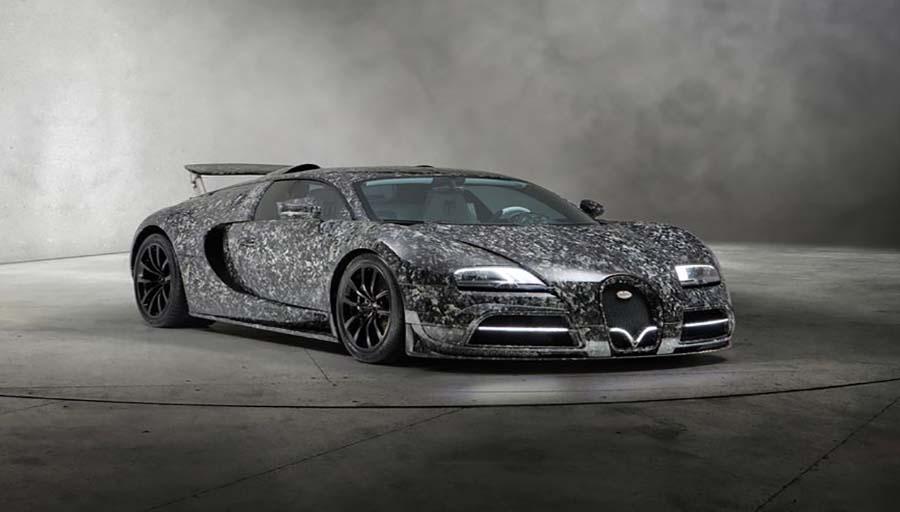 خودرو اصلاح شده شرکت Mansory : MANSORY Bugatti Vivere Diamond Edition