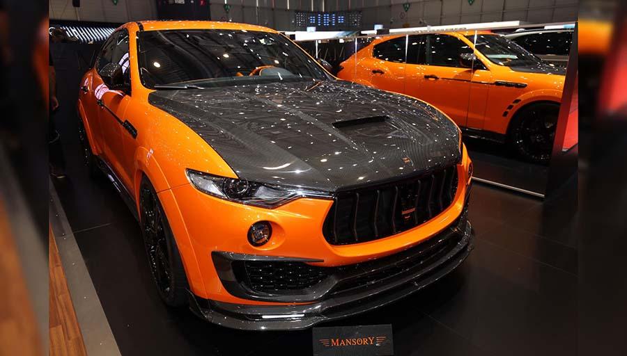 خودرو اصلاح شده شرکت Mansory :  Maserati Levante