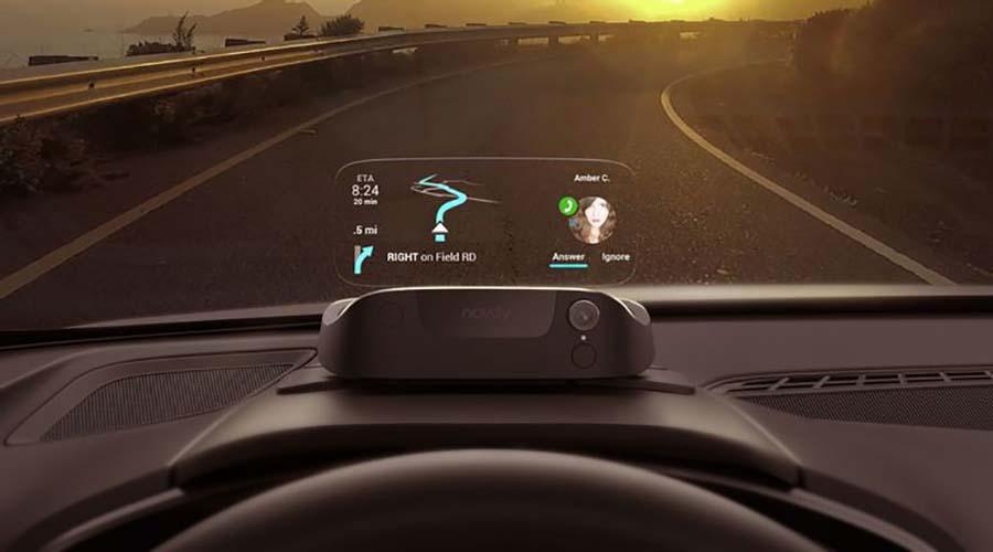فناوری خودرو : نمایشگر نشان دهنده سرعت جلوی شیشه راننده