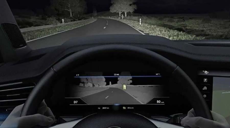 فناوری خودرو : فناوری دید در شب