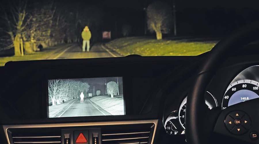 فناوری خودرو : سنسور های دید در شب در خودرو