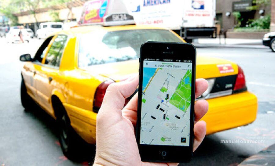 بهترین مشاغل پاره وقت : راننده آنلاین