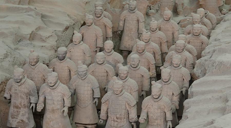 اکتشافات باستان شناسی: مقبره شین شی هوانگ