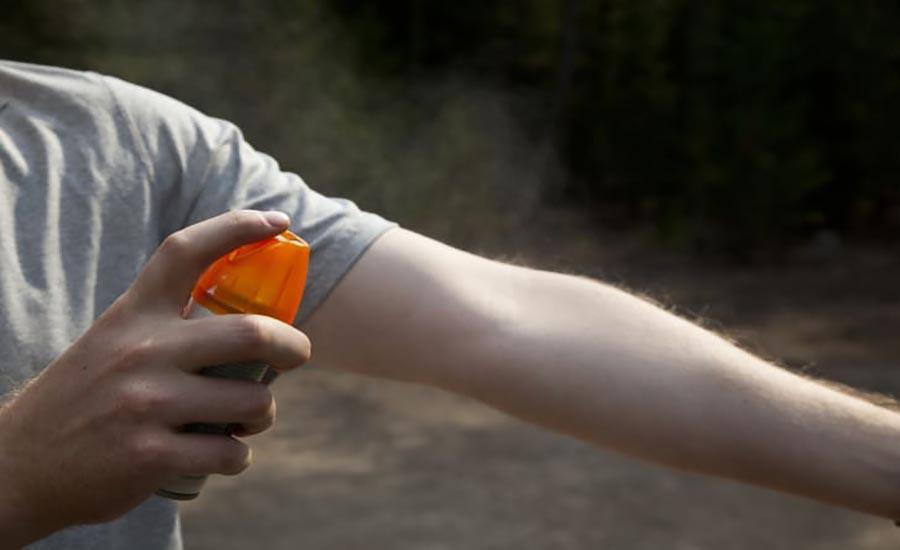 موارد ضروری گردش پیک نیک: استفاده از اسپری بدن ضد حشره