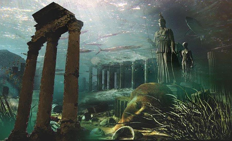 اکتشافات باستان شناسی: شهر گمشده آتلانتیس