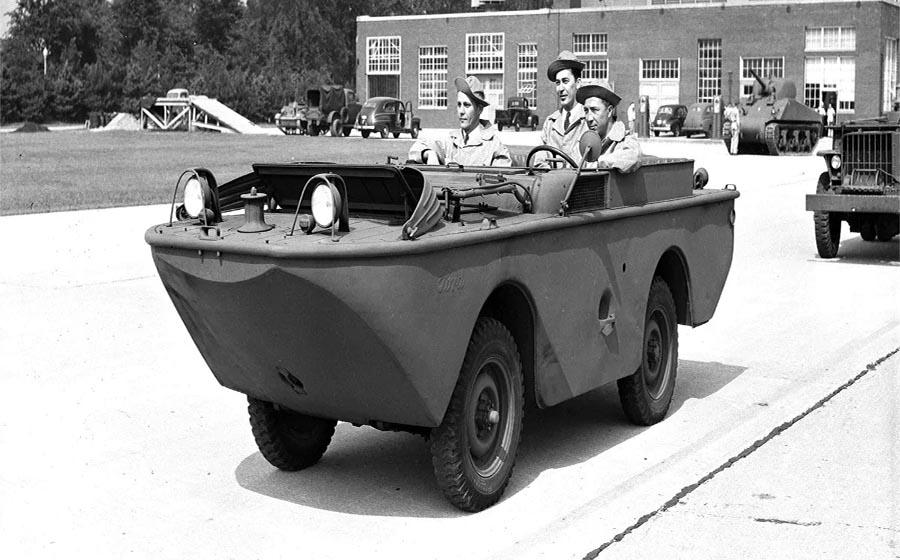 خودرو های نظامی جنگ جهانی دوم توسط شرکت Ford
