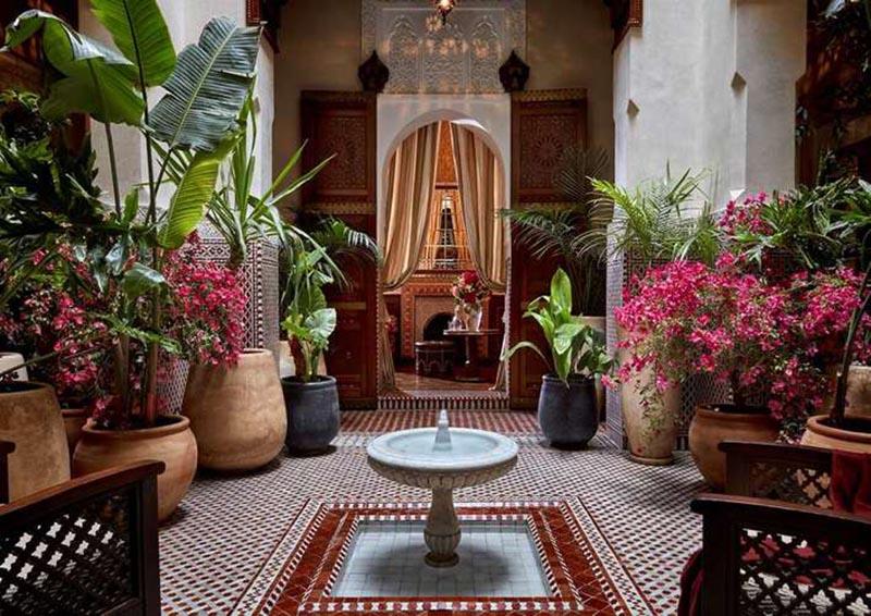 اتاق استراحت هتل Royal Mansour