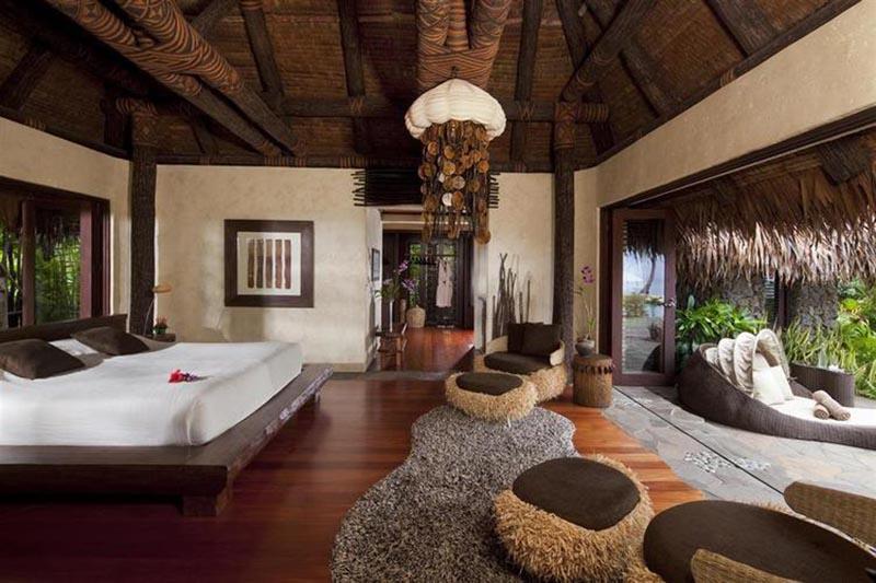 فضا داخلی اتاق جزیره LAUCALA