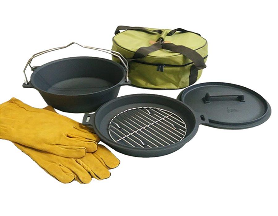 موارد ضروری پیک نیک: ست قابلمه یا ماهی تابه پیک نیکی