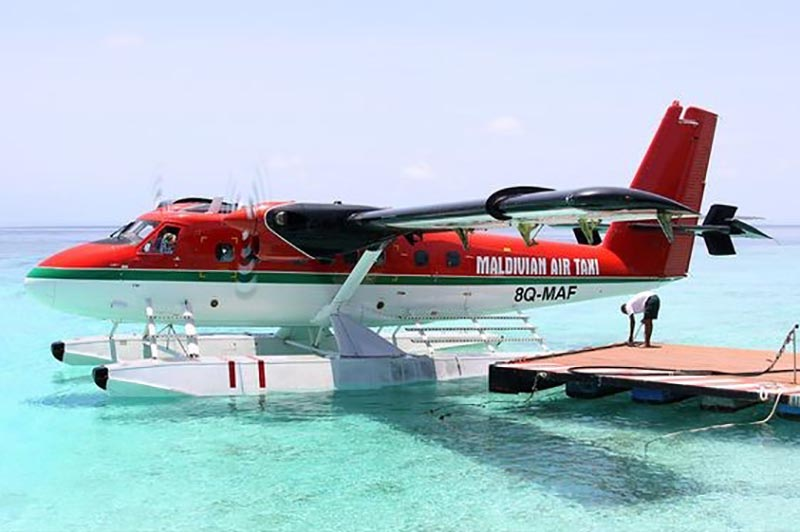 هواپیمای اختصاصی حمل مسافر تا جزیره