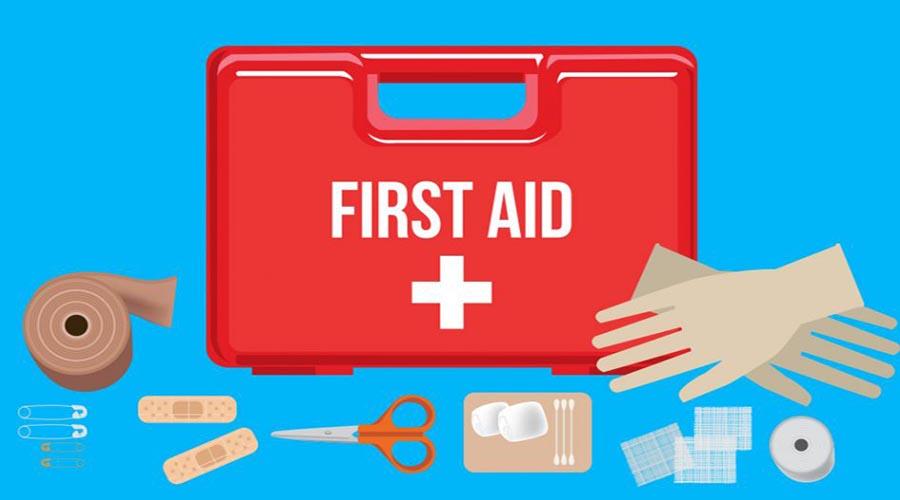 موارد ضروری گردش پیک نیک: جعبه کمک های اولیه