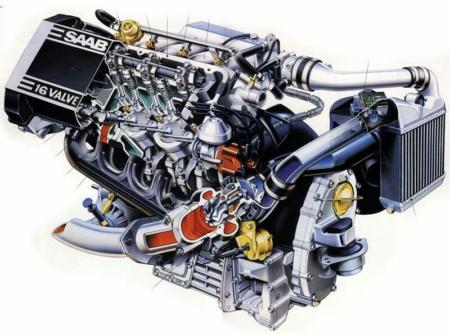 نما و جزییات موتور خودرو