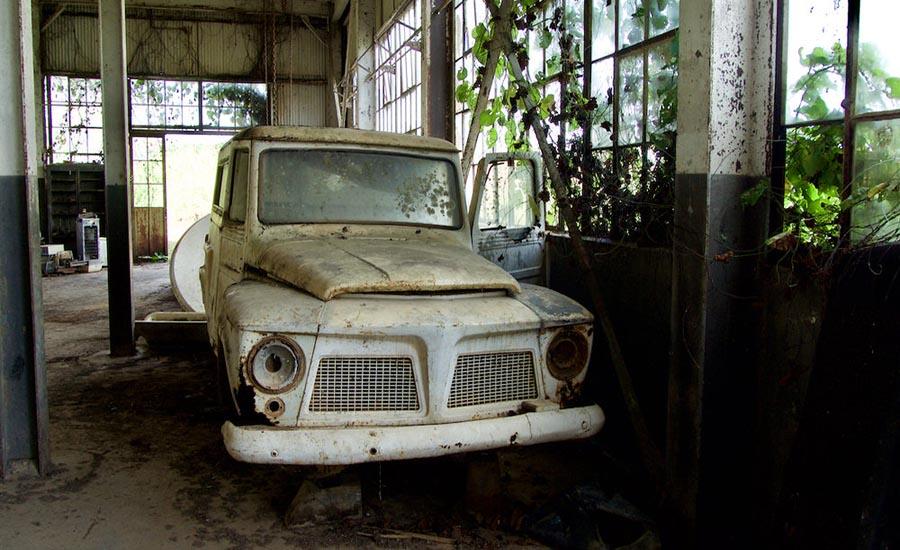 کارخانه متروکه ساخته شده در سال 1927 توسط شرکت Ford