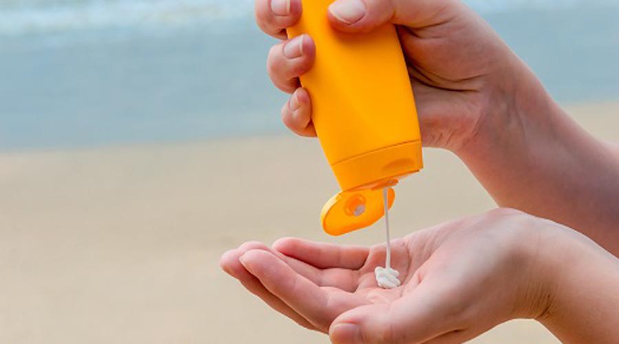 موارد ضروری پیک نیک:  استفاده از کرم ضد آفتاب