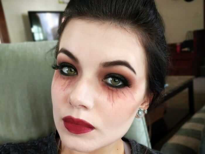 آرایش هالووین خون آشام
