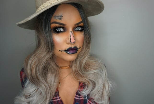 آرایش هالووین مترسک