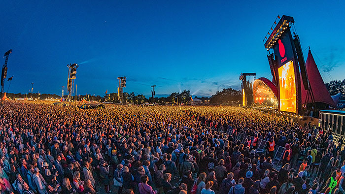 جشنواره ای در روزکیلد در کشور دانمارک