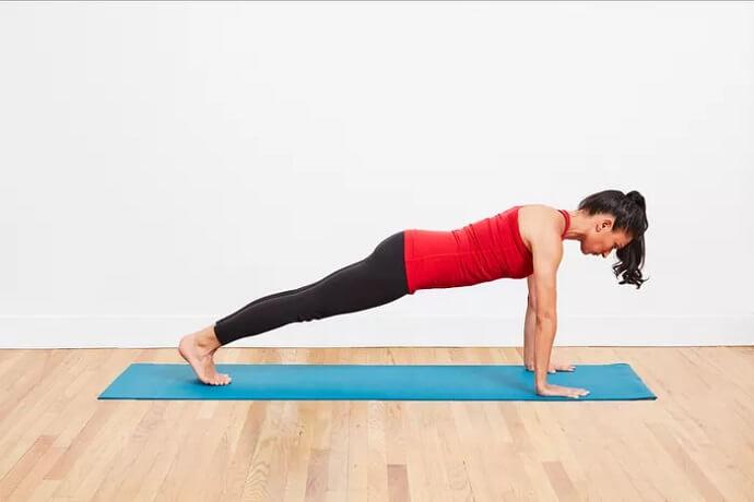 آموزش یوگا حرکت پلانک