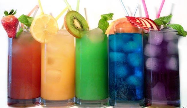 نمونه ای از نوشیدنی ها با قندافزودنی کمتر