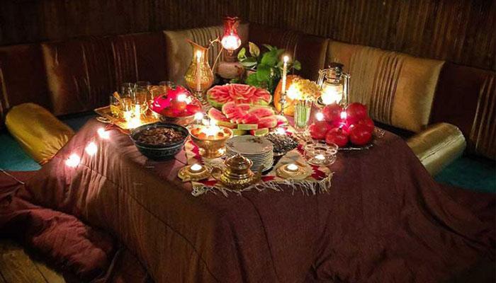 استفاده کرسی در شب یلدا
