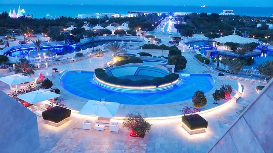 هتل ترنج کیش نمونه ای از بهترین هتل های ایران است