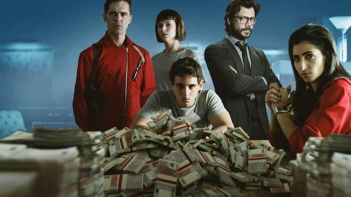 بی شک یکی از بهترین فیلم های دنیا خانه کاغذی است