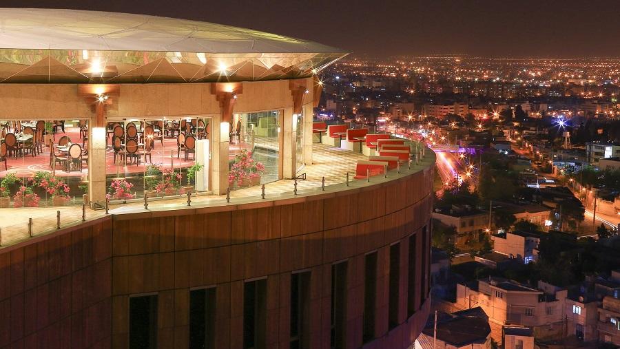 هتل بزرگ شیراز از نمونه بهترین هتل های بزرگ ایران است
